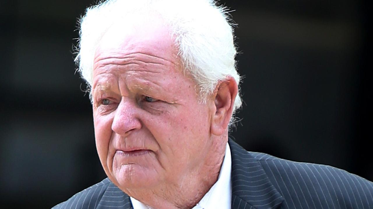 Disgraced greyhound trainer Tom Noble attends Supreme Court. Photo: Jodie Richter