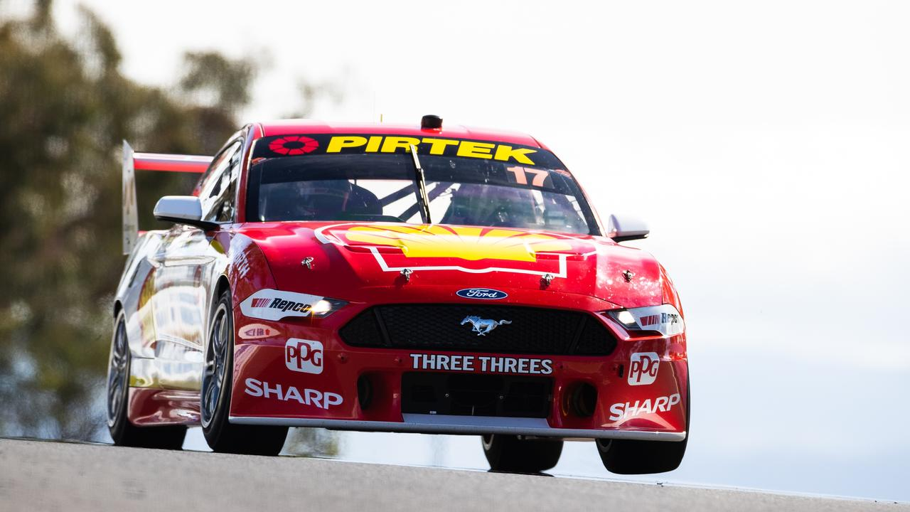 Scott McLaughlin is in a world of his own at Bathurst.