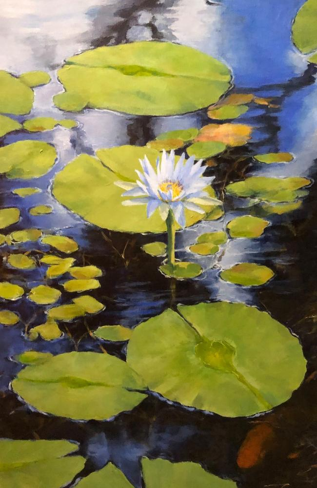 Lily Pond by Mitzi Vardill.