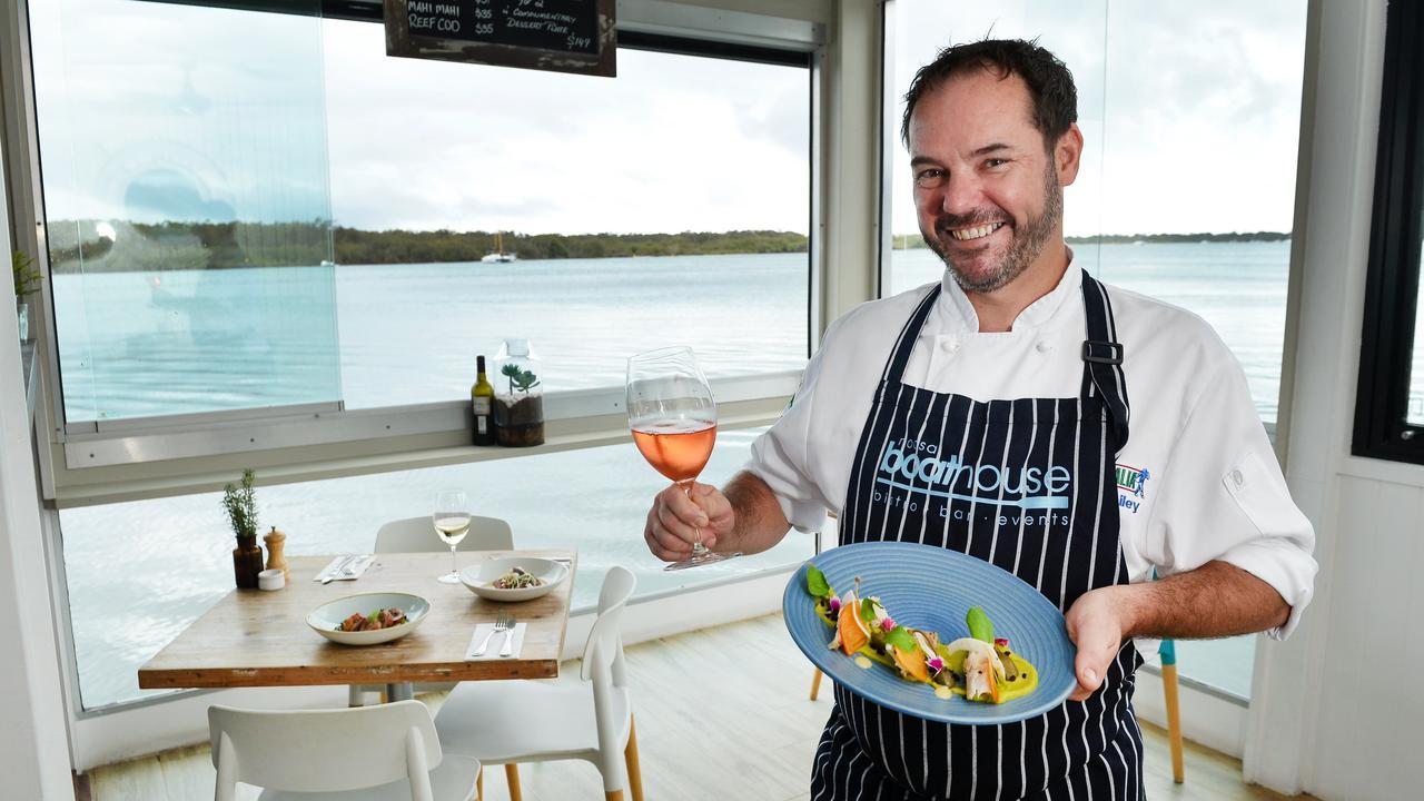 Noosa Boathouse, Gympie Terrace, Noosaville. Head chef Shane Bailey.