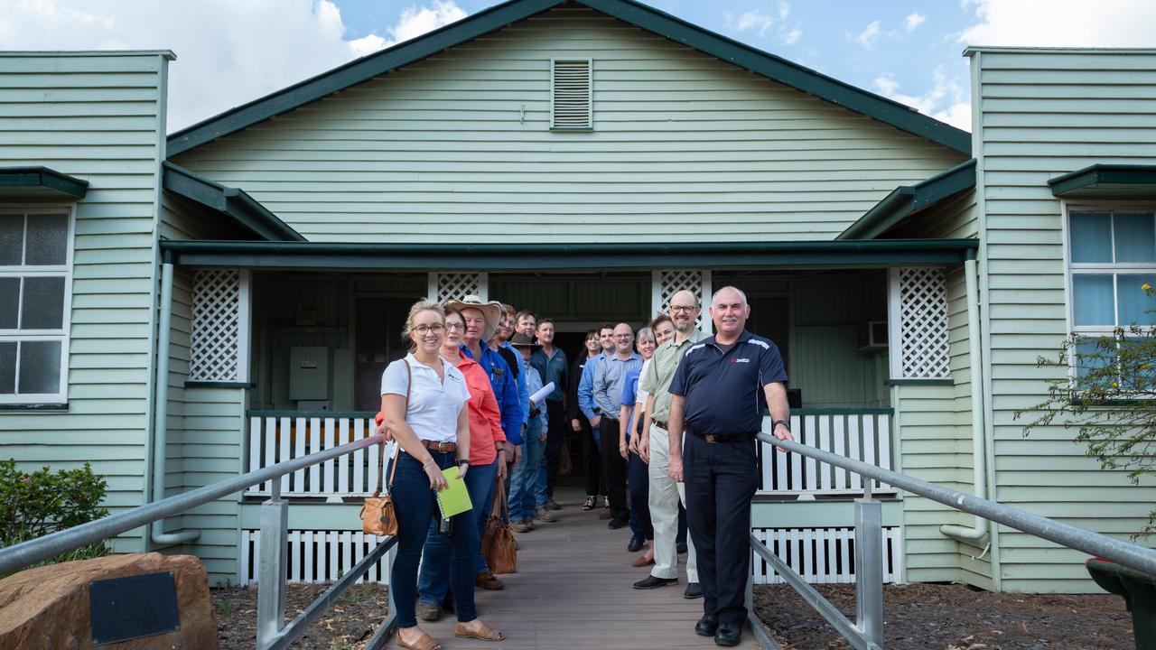 PREPARED: The first Bushfire Management Community Workshop in Dingo.