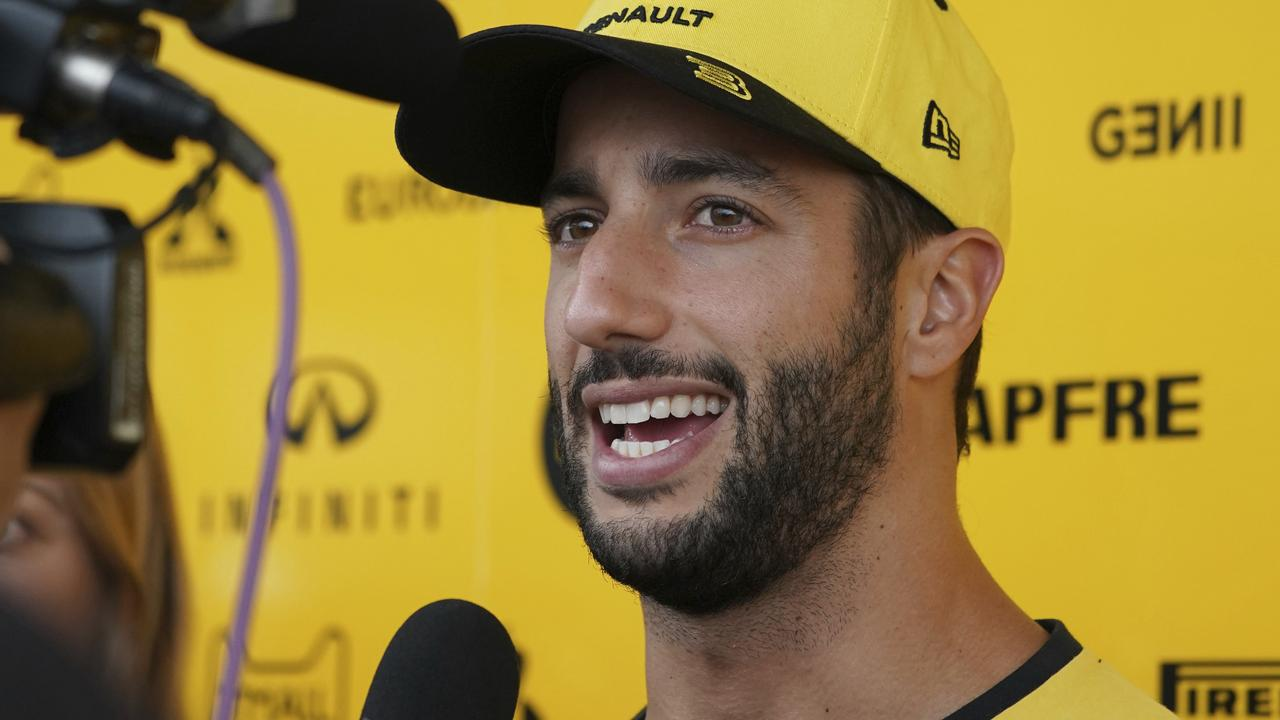 Australia's Daniel Ricciardo will be cooling his heels on Saturday in Japan.