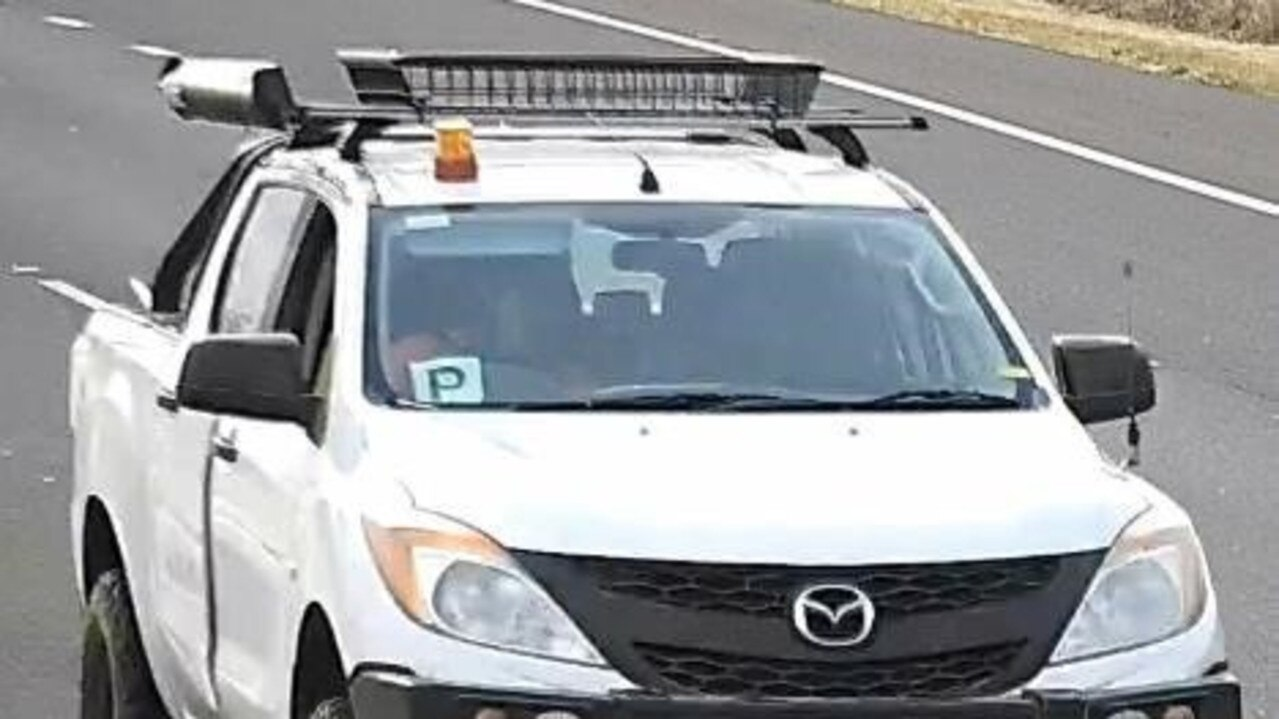 Mazda BT-50, registration QLD 016MAX, stolen between 8pm on October 3, and 5am on October 4, from Bagot St, Centenary Heights.