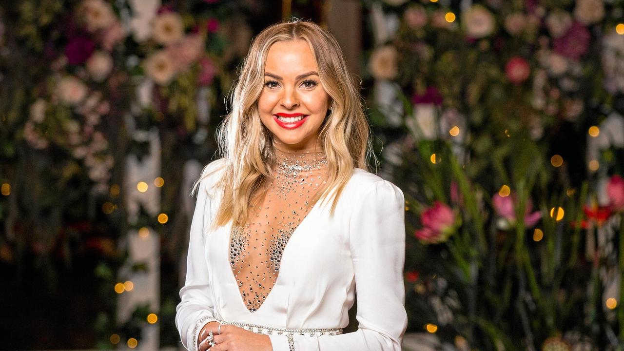 Before she was The Bachelorette, Angie Kent was single for eight years. Picture: Channel 10
