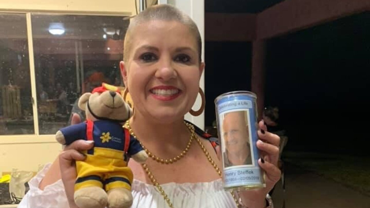 GOOD CAUSE: Kylie Sunnerdale shaved her head to honour her uncle.