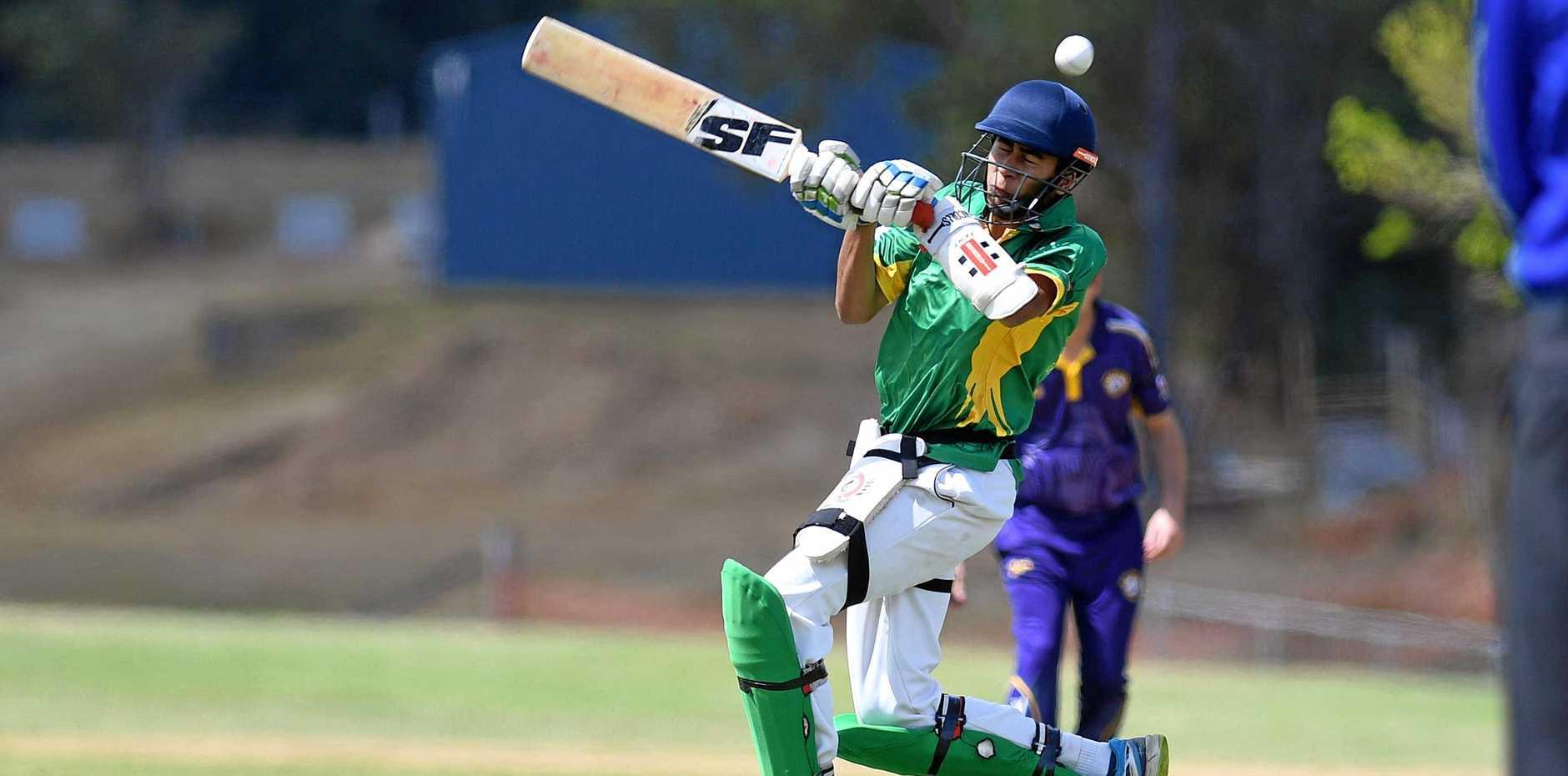 Gympie Cricket at One Mile Valleys V Wests - Lovedeep Singh