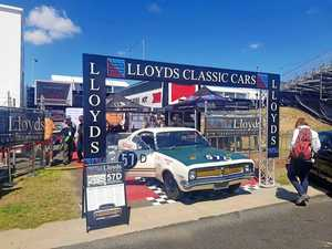 Holden race cars reunite to celebrate 50 years at Bathurst