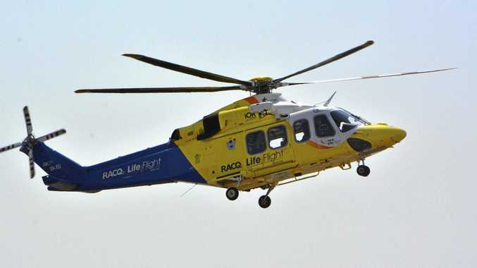 Jetski rider rushed to hospital in 'serious' condition