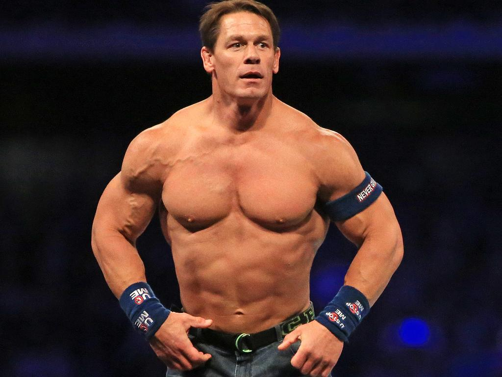 John Cena hasn't had to stomach sledges worse than this.