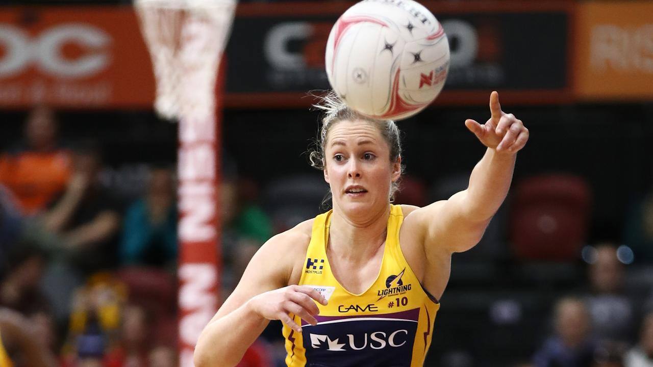 Laura Scherian of the Lightning could debut with the Diamonds in New Zealand this week. (Photo by Brendon Thorne/Getty Images)