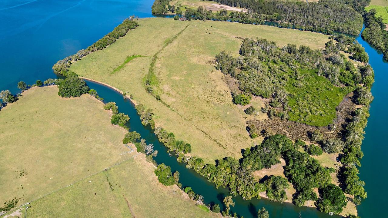 Gourd Island on NSW's north coast is for sale at $800,000.