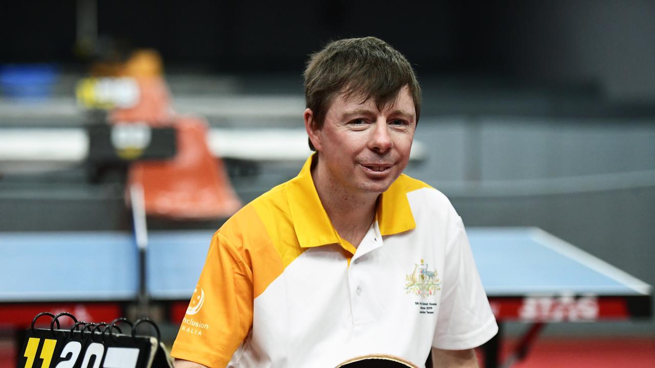 TABLE TENNIS: Bundaberg's Ashley Parrott preparing for the INAS Global Games.