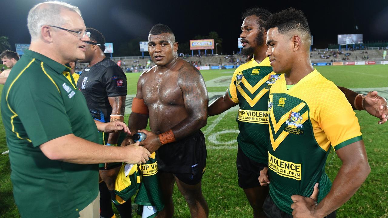 A Fijian NRL team could achieve great things. Photo: AAP Image/David Mariuz
