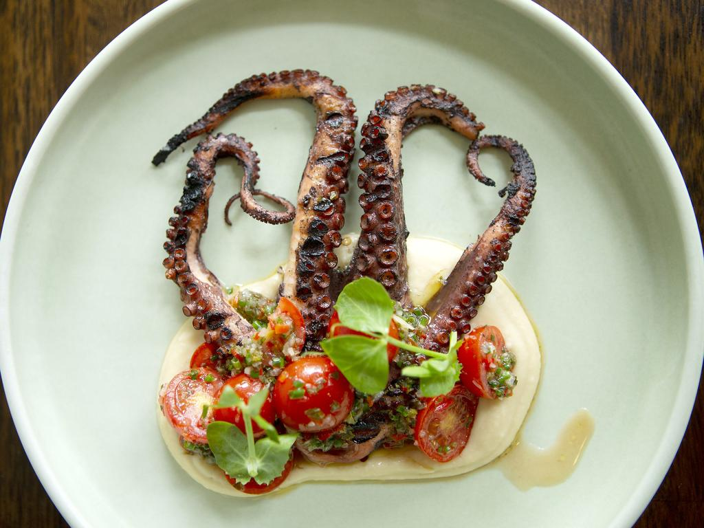 Get your tentacles into dishes like this from Mosconi