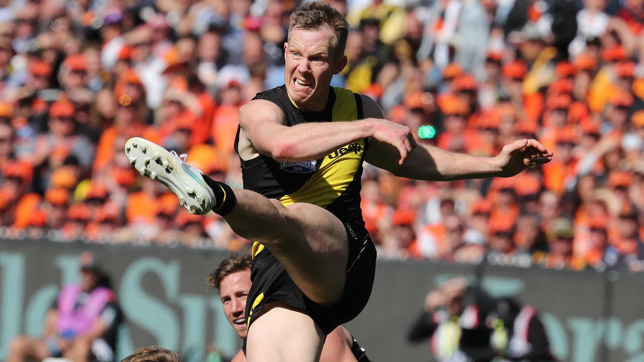 McLaughlin watched Riewoldt play in this year's Grand Final. Picture: Michael Klein