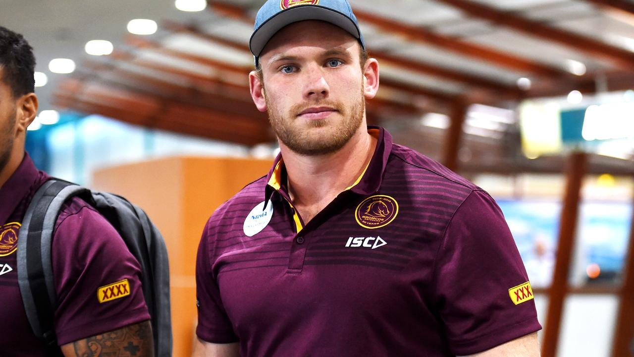Matt Lodge won't captain the Broncos.