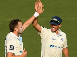 Starc odd man out as NSW bowlers rule
