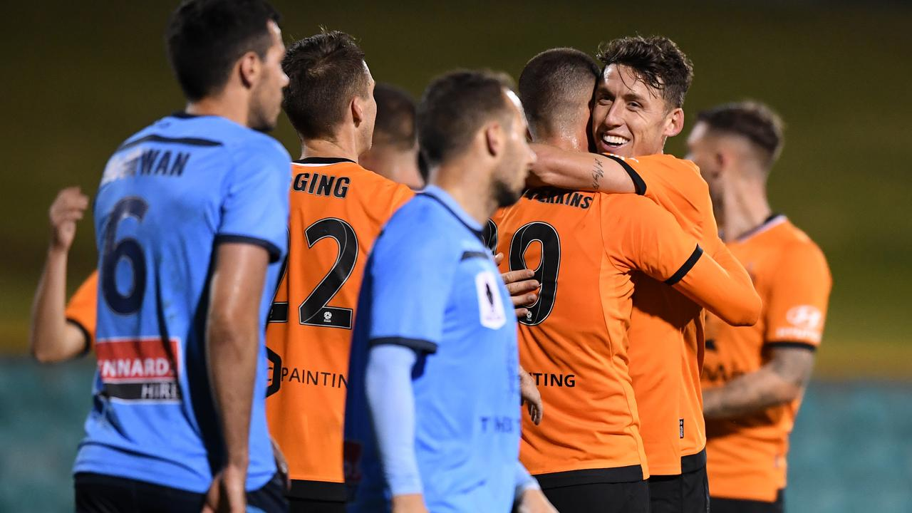 Roar knocked over Sydney in the FFA Cup.