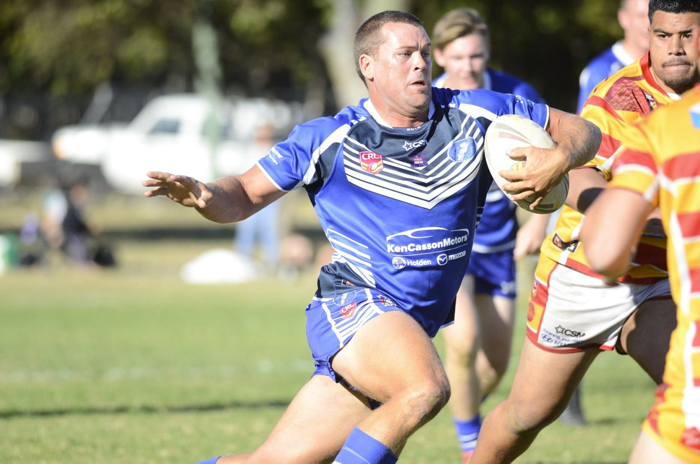 Danny Wicks has been immense for the Grafton Ghosts since returning from the NRL.