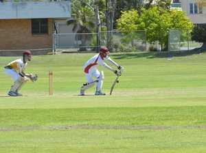 Action in Gladstone cricket thri