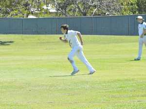 Action in Gladstone cricket