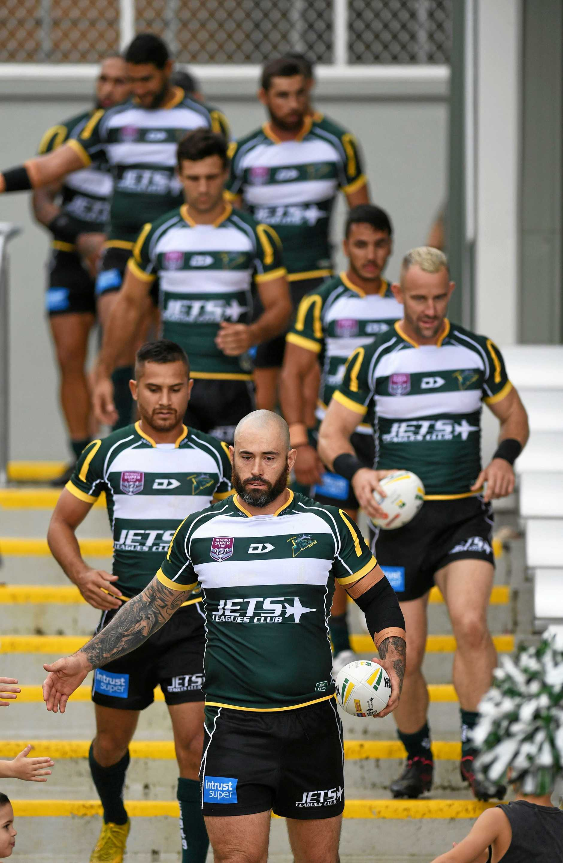 LEADING THE WAY: Ipswich Jets captain Nat Neale.