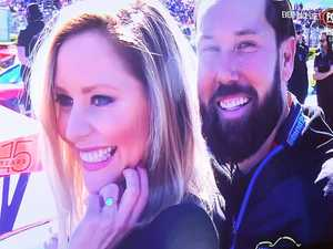 Robinson and Talbot engaged on live TV at Bathurst