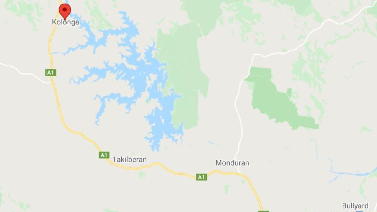HEAD ON: Police are calling for information after a double fatality at Kolonga, 38km north of Gin Gin last night. Photo: Google Maps.