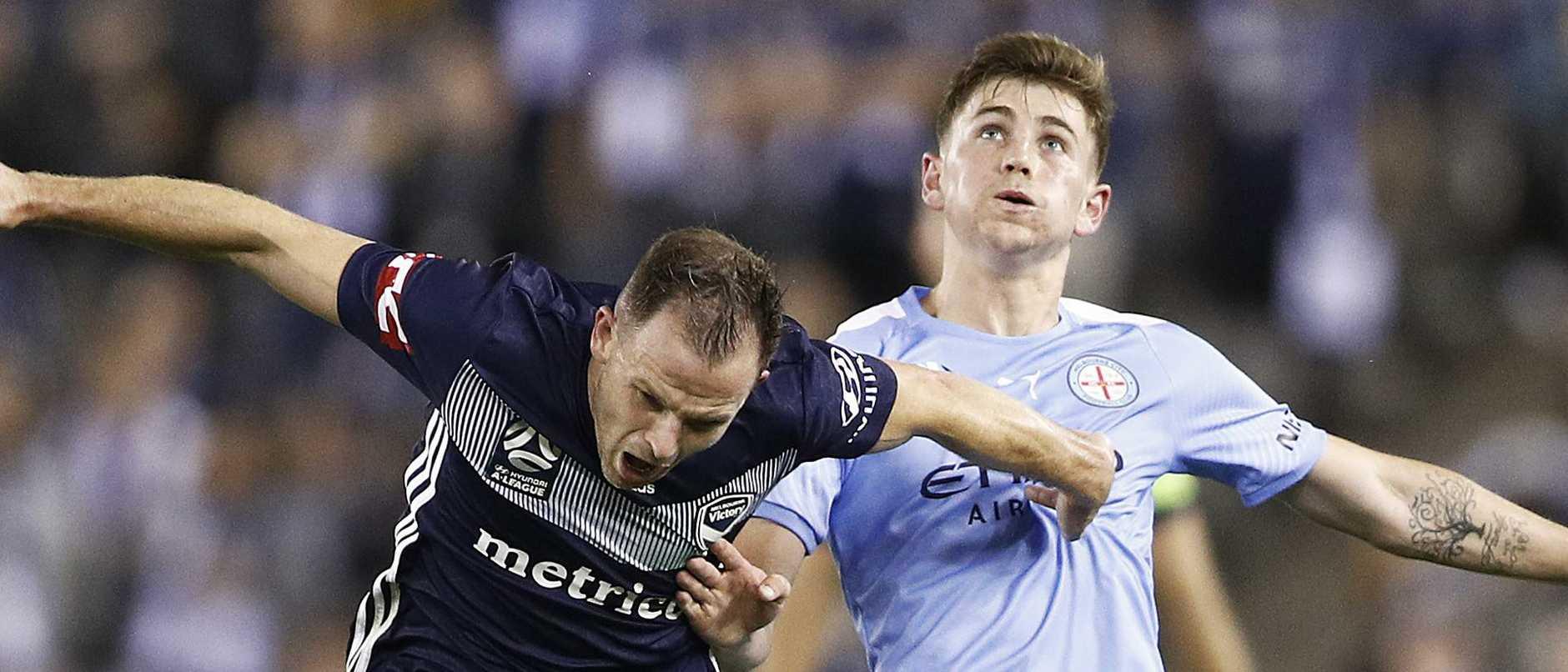 A-League Rd 1 - Melbourne Victory v Melbourne City