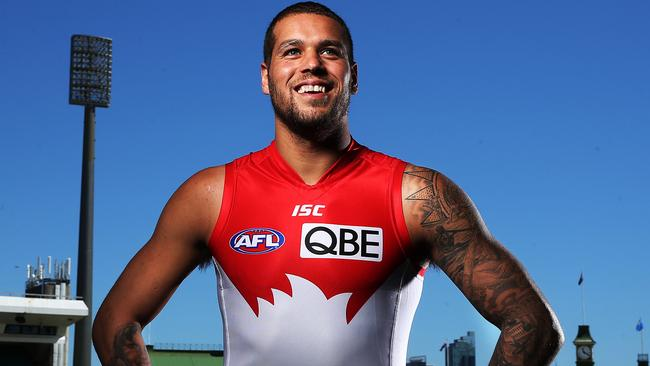 Lance Franklin moved to Sydney despite being strongly linked with crosstown rival GWS. Picture: Phil Hillyard
