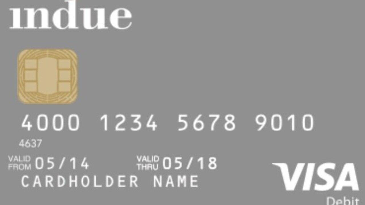 Indue Cashless Debit Card