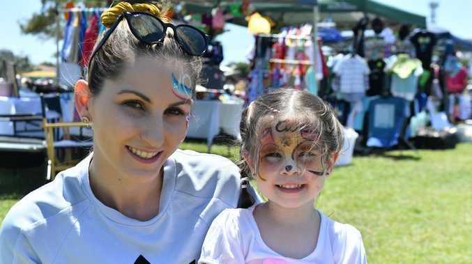 PHOTOS: Active living festival ready set going