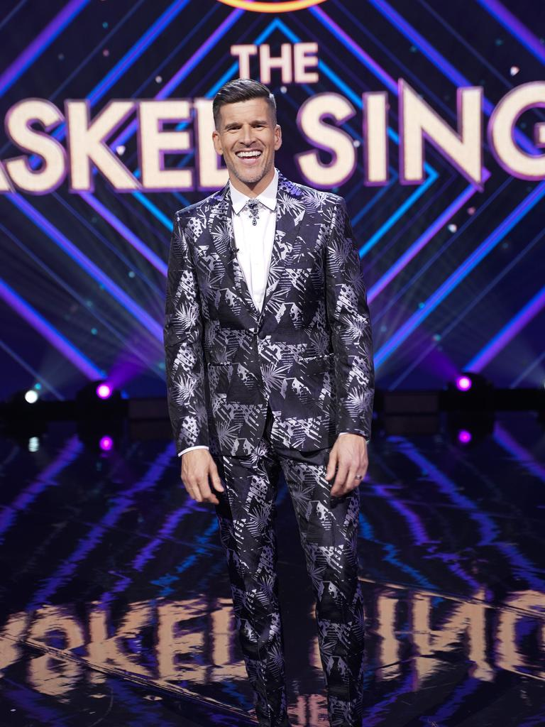 Fans have actually been tuning into The Masked Singer to see what Gunsberg wears next.
