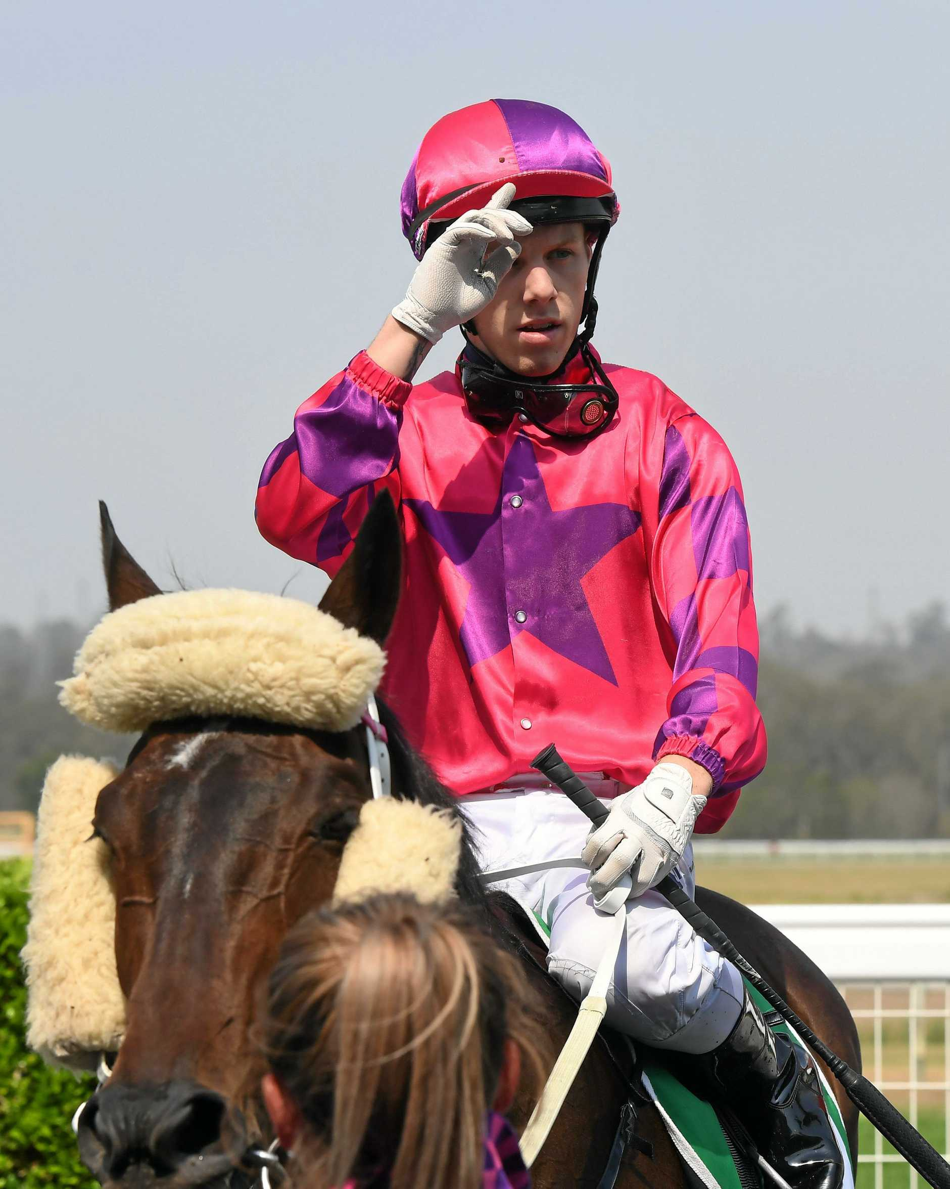 Special Thing ridden by Corey Bayliss won the Sky Racing Ratings Band 0 - 65 race at Ipswich Racetrack on Wednesday.