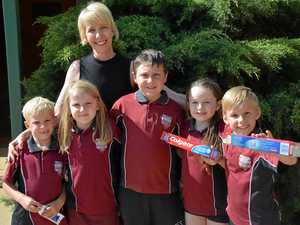 Small school goes big in national recycling comp