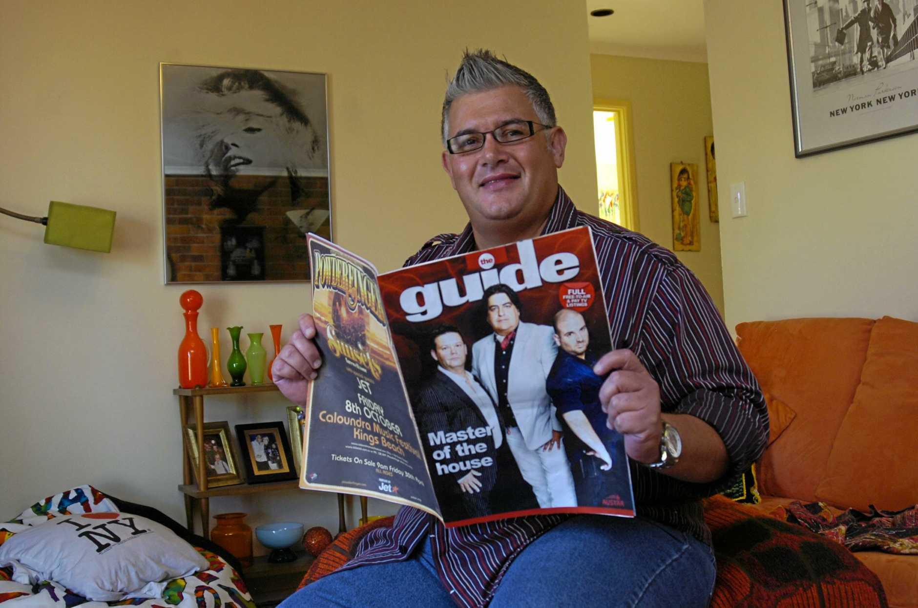 New TV guide - Artie Rocke.  Photo: ALISTAIR BRIGHTMAN 10h1057