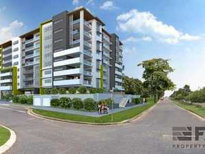 Site of nine-storey residential tower up for sale
