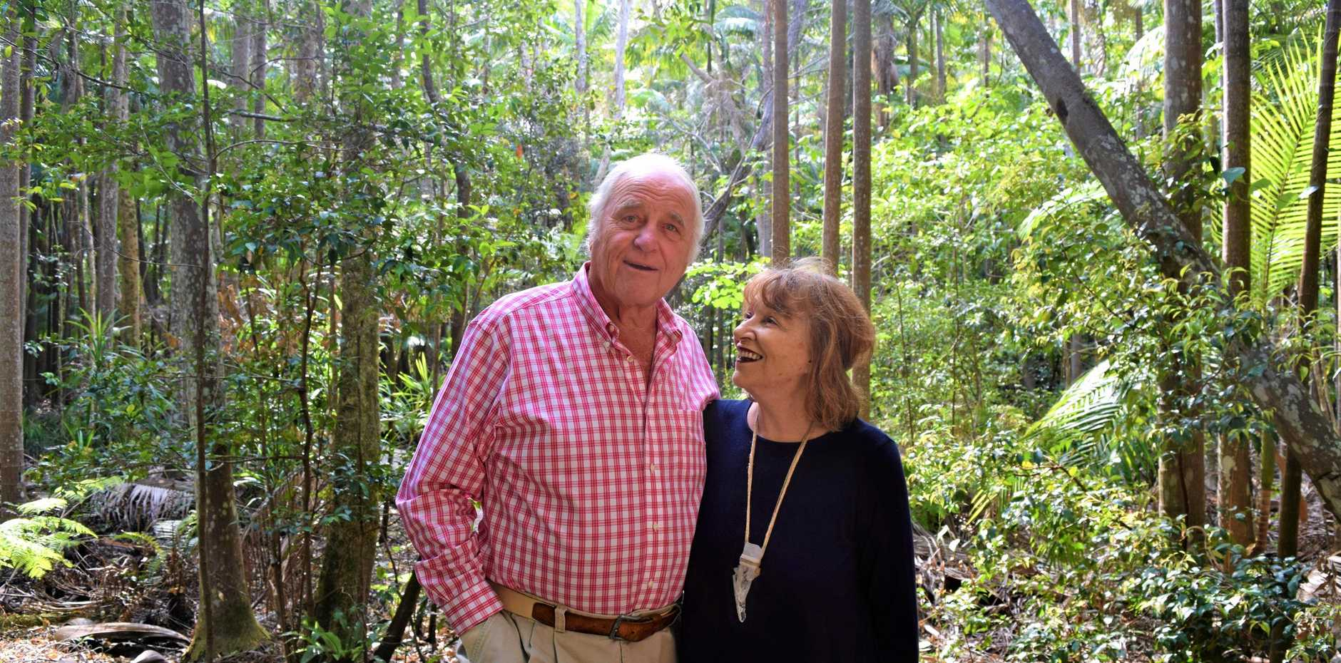 POWER COUPLE: John and Lyn Parche have retired from the Byron at Byron resort and Spa after 15 years of welcoming visitors.