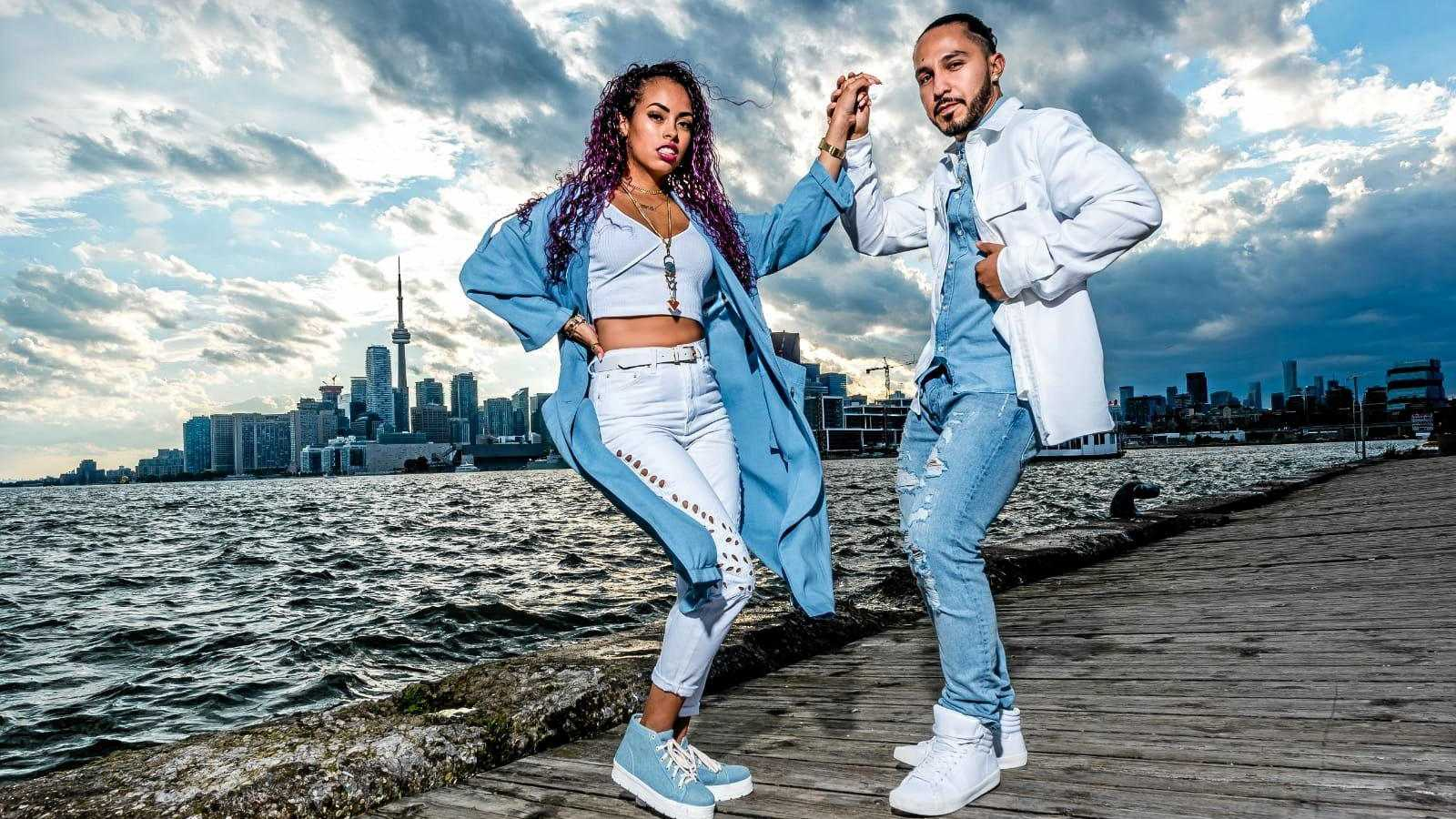 STEPPING OUT: Canadian dancers Kim and Geo teach and perform Dominican bachata and mambo.