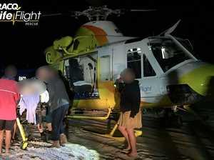 Man run over on Fraser Island