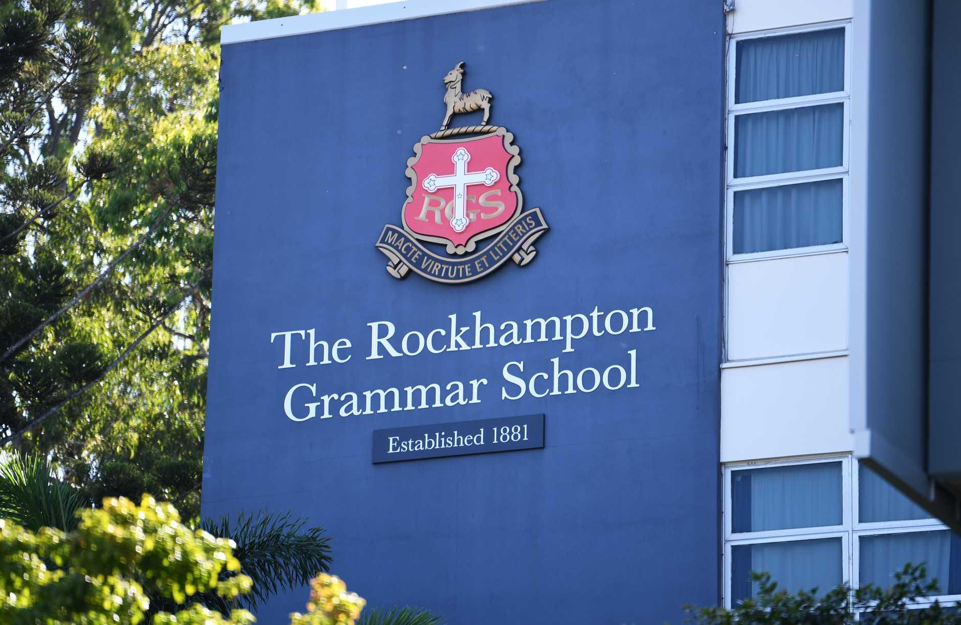 Rockhampton Grammar School. PHOTO: Allan Reinikka
