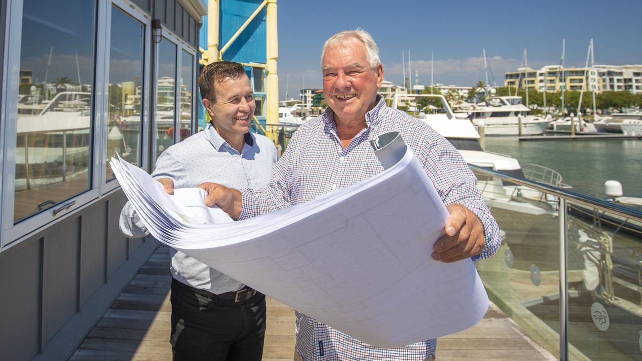 (L-R) Managing director Graham Secombe and Foundation of KDA Architecture Ken Down form new architecture and project management collective which is largest regionally based team in Queensland.