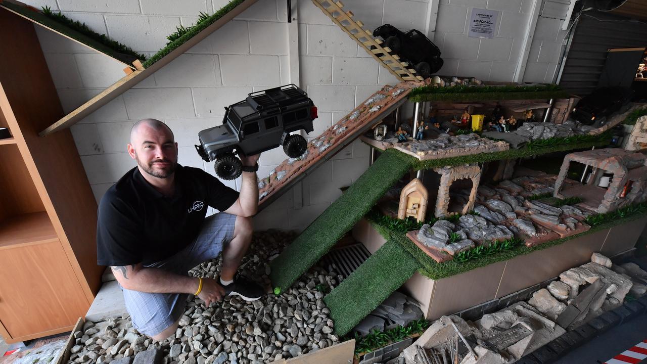 Matt Evans at his Lighthouse RC workshop. Photo: John McCutcheon