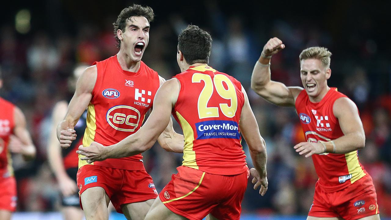 Ben King has built strong relationships on the Gold Coast. Picture: Jono Searle/AFL Photos/Getty