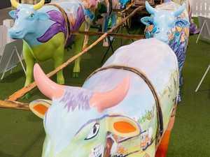 Carnival cows bring in $10k Bovine art raises cash for charity