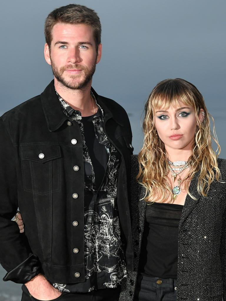 Fans were shocked by Hemsworth and Cyrus' split. Picture: Neilson Barnard/Getty Images