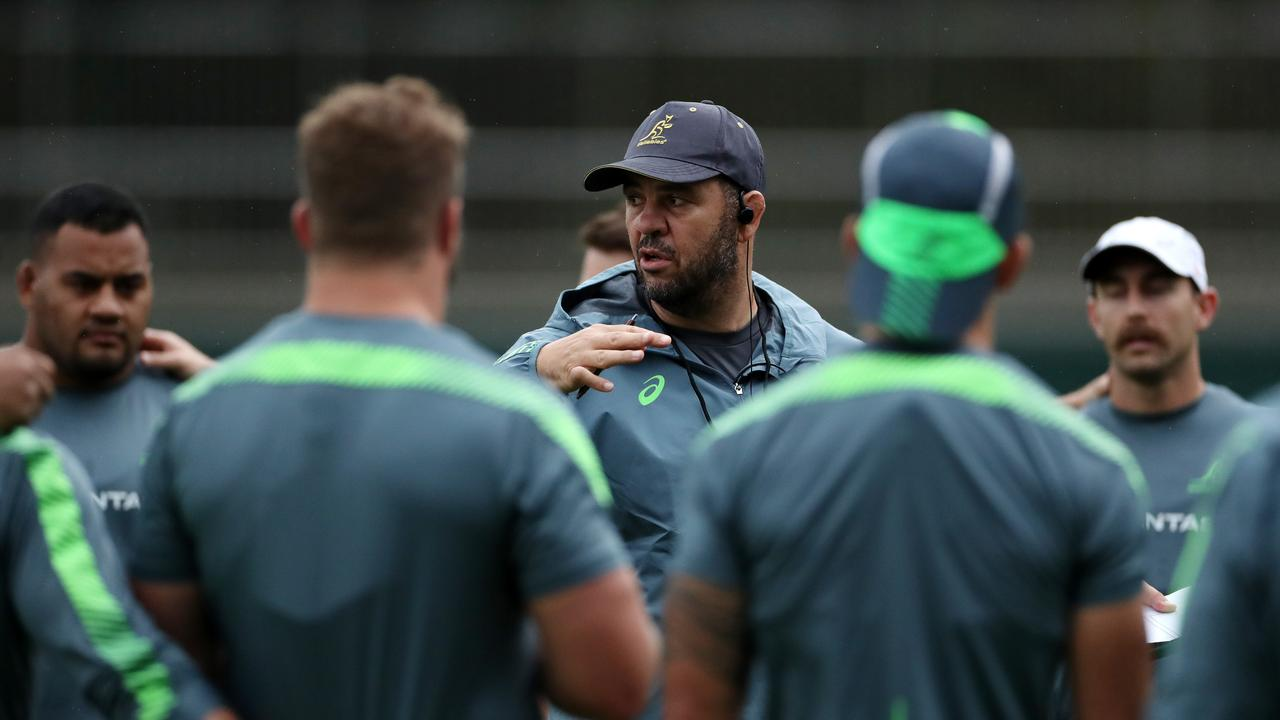 Michael Cheika is trying to take the heat off his players. Picture: Dan Mullan/Getty