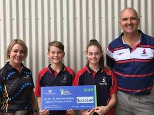 B2B donates $26k to Gladstone schools