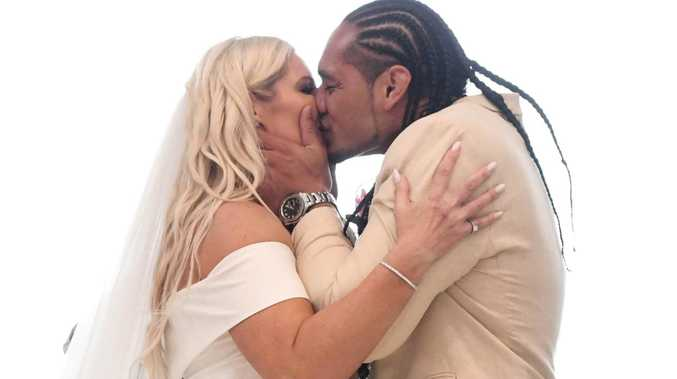 Manly's Marty Taupau marries 'love of his life'