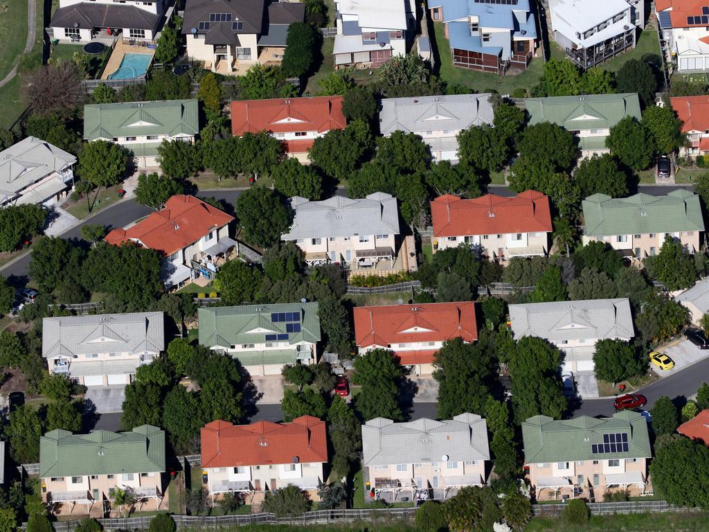 A housing slowdown is hurting Australia's economy. Picture: Darren England